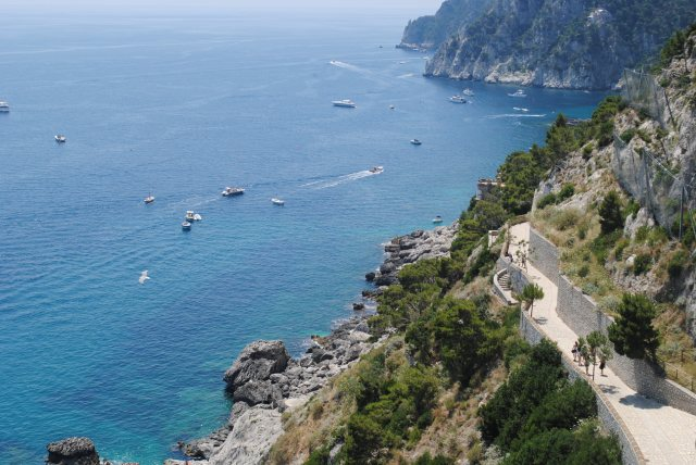 Amalfi Coast: Game 7, Attack of the Jellyfish, & Locked Up Abroad.