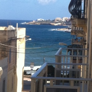 The view from our balcony...incredible!