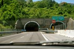 Heading up the A1 towards Barberino and Lake Bilancino