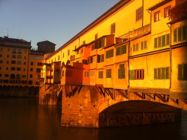 sunrise ponte vecchio